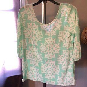 Francesca Top Mint Green
